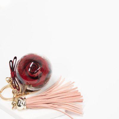 Scarlet Red Everbloom Charm