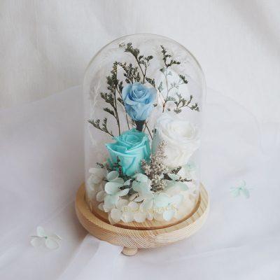 Preserved Flowers Winter Wonderland Img1