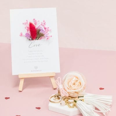 Champagne Preserved Card