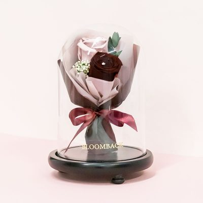 Faithfully Wine (bouquet Dome) No Led