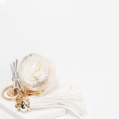 White Everbloom Charm