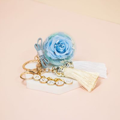 Everbloom Baby Blue Peace Charm