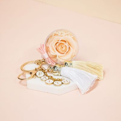 Everbloom Champagne Peace Charm