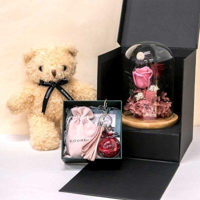 Lnf Premium Gift Set (classic Scarlet) (open Box)