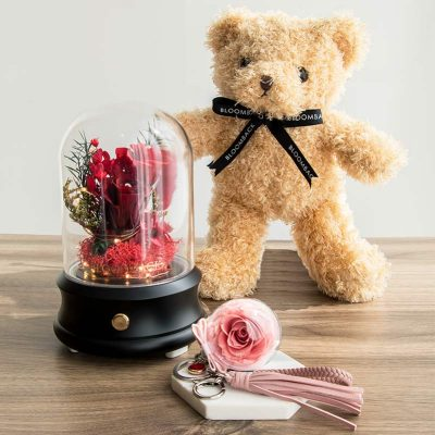 Perfect Love Gift Set W Bear