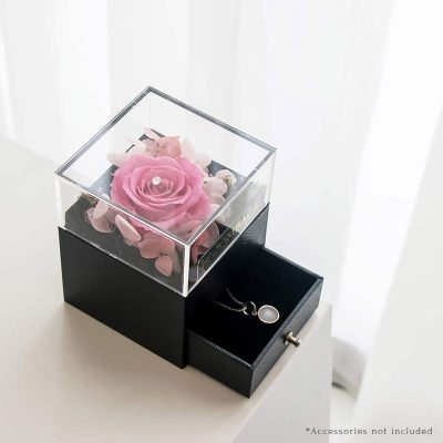 With All My Heart Jewellery Box Pink (open Box)new