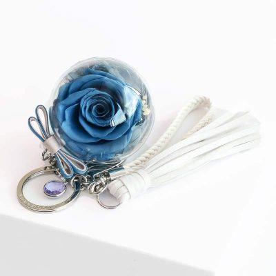 Classic Birthstone Charm Smokey Blue - Lying